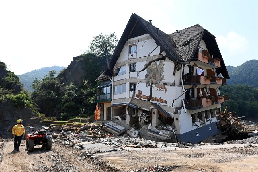 Inundații catastrofale în Germania