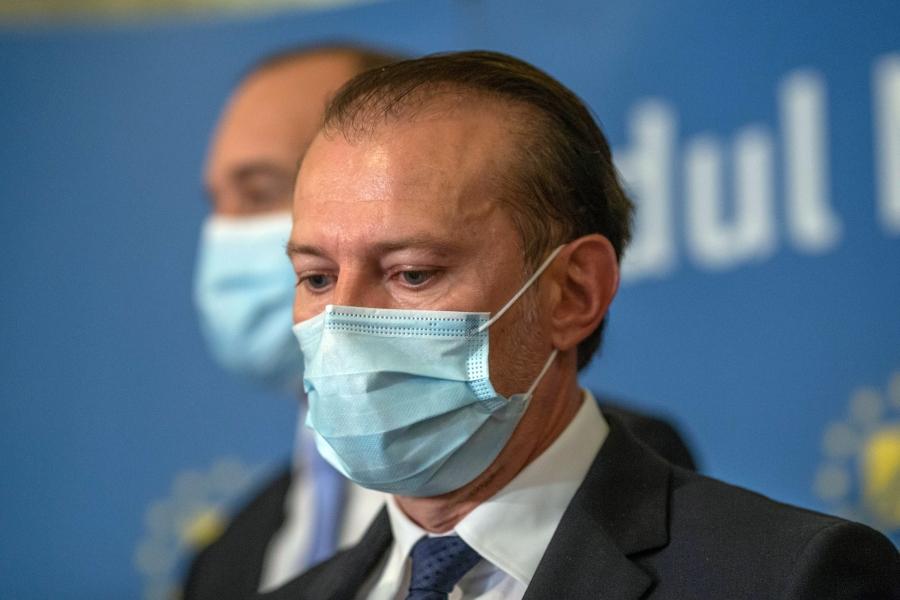 Florin Citu cu masca