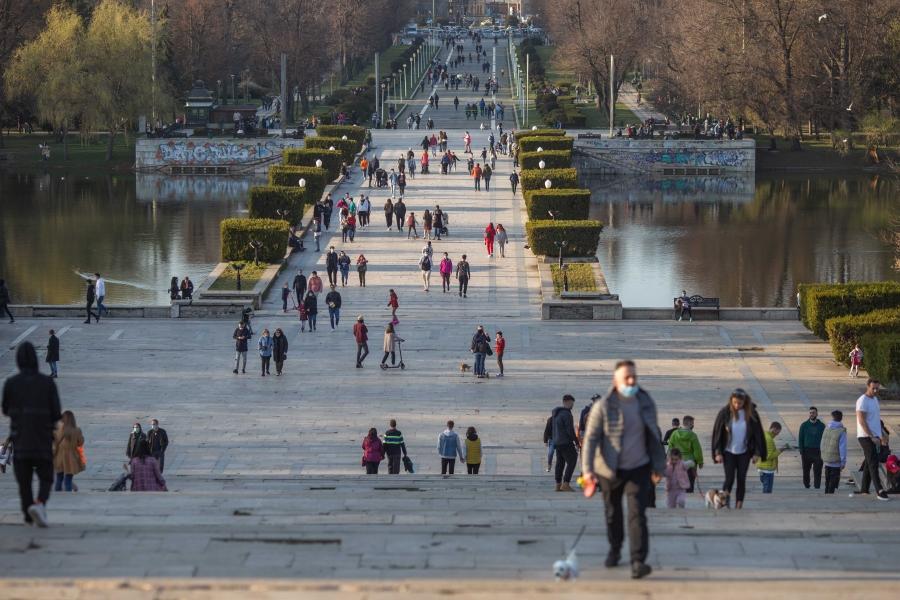 Parc - Bucuresti - Foto: Inquam Photos / Ilona Andrei