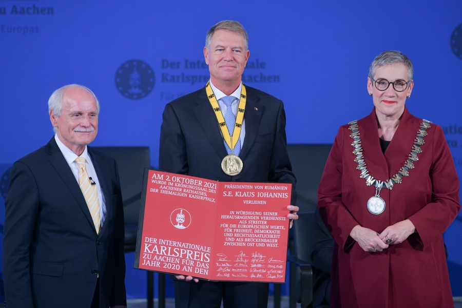 Premiul internațional Carol cel Mare, Aachen