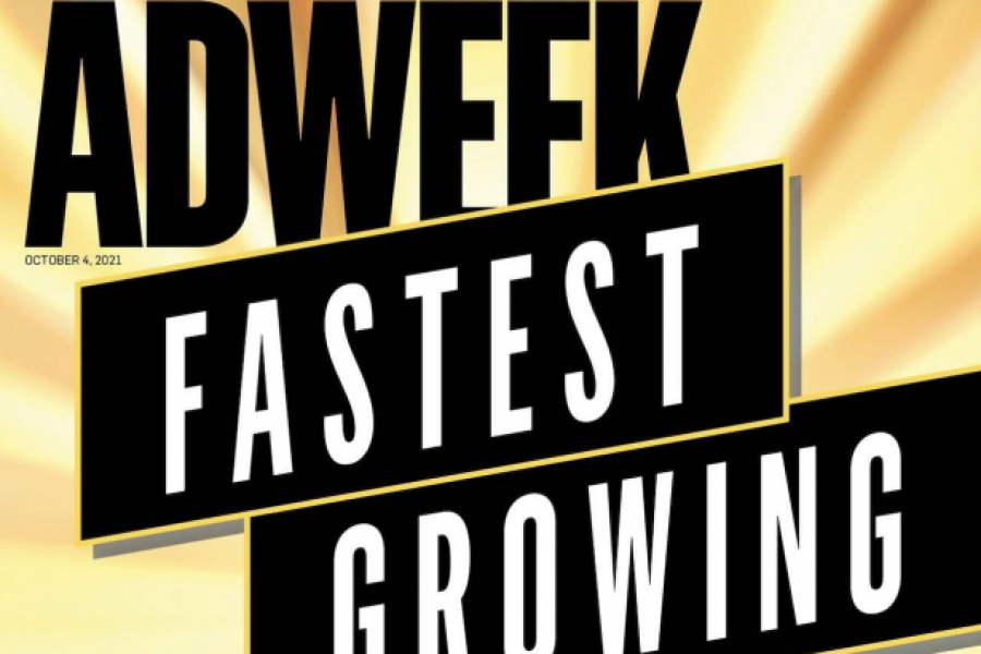 Cover Fastest Growing Companies al Adweek