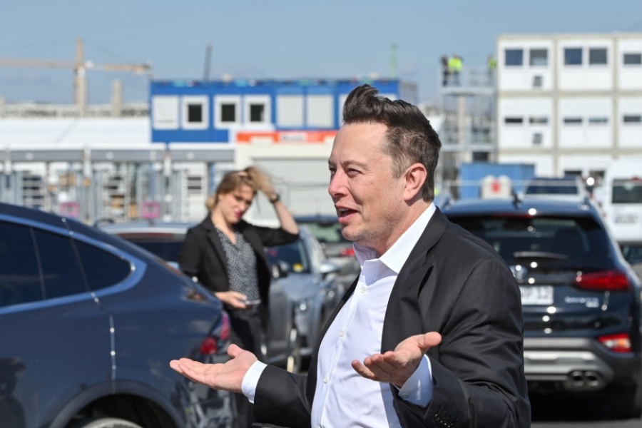 Elon Musk - Giga Berlin