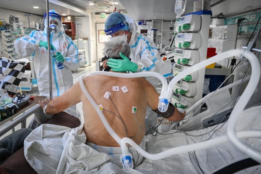 spital MArius Nasta - (Foto: Daniel Mihailesc / AFP / Profimedia)