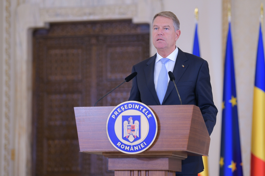 Klaus Iohannis, octombrie 2021