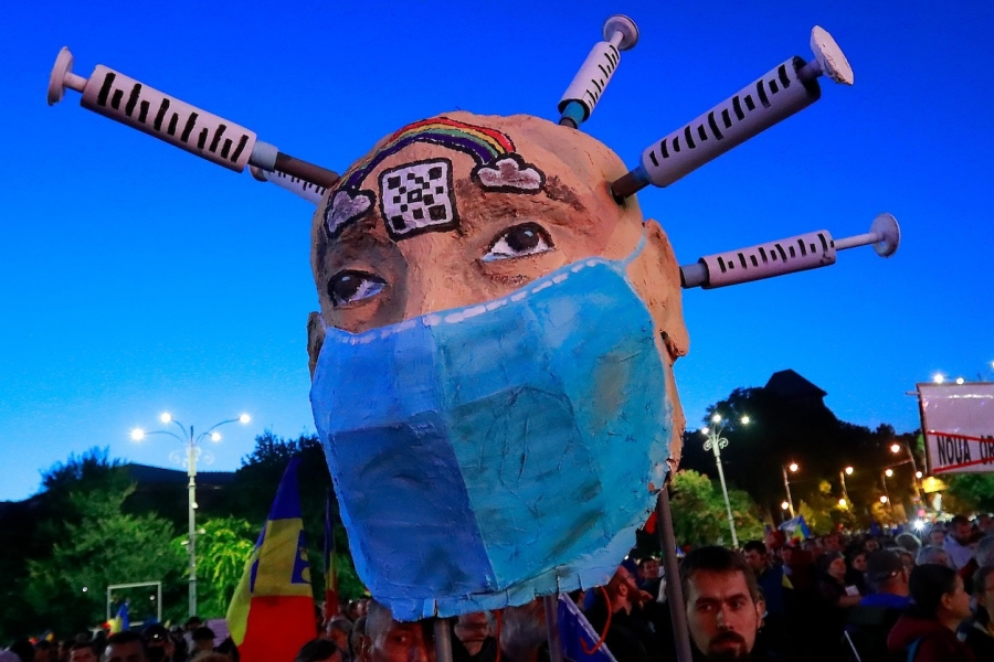 Protest antivaxx
